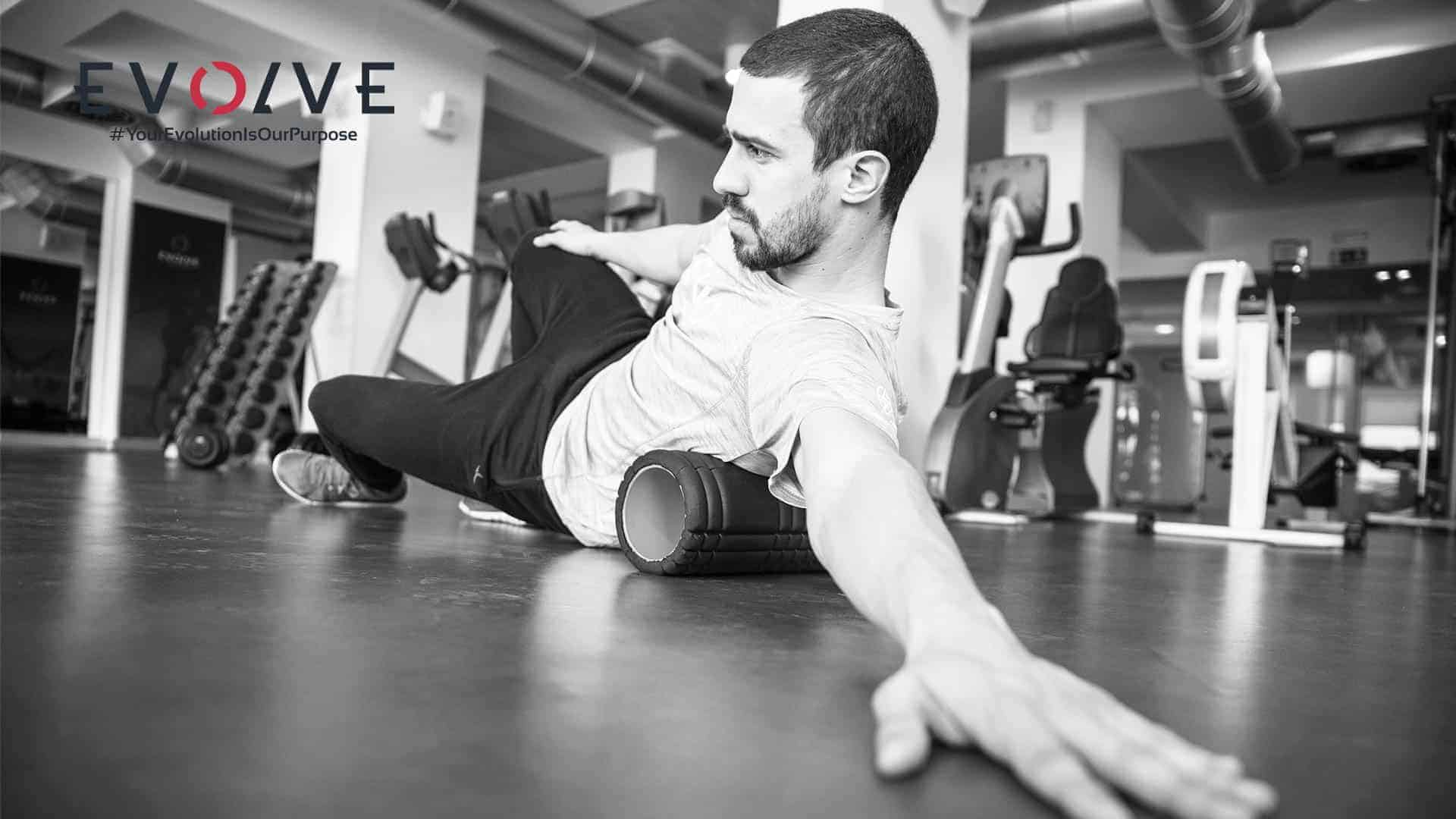 Evolve Fitness Concept